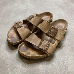 Birkenstock Two Strap Sandals Size 39